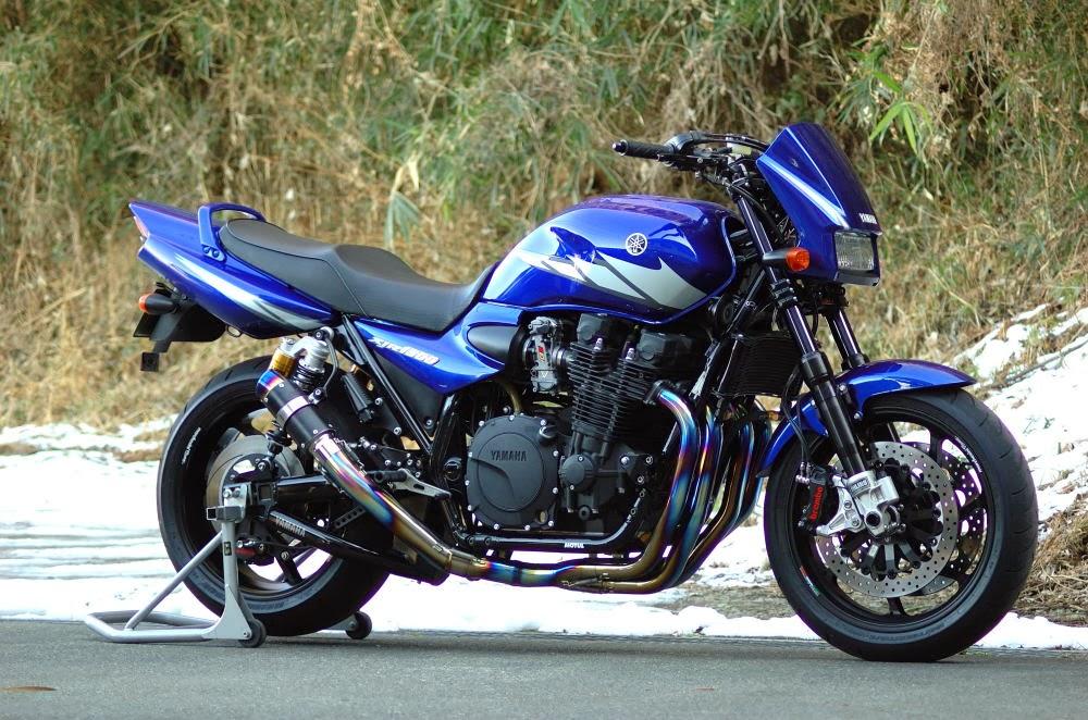 Planet Japan Blog: Yamaha XJR 1300 by Kaminari Racing