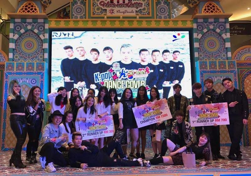 Pemenang K-Pop Dance Competition