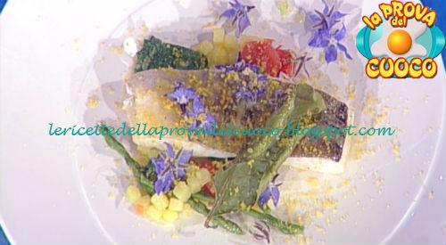 Prova del cuoco - Ingredienti e procedimento della ricetta Merluzzo con asparagi selvatici e borragine di Gianfranco Pascucci