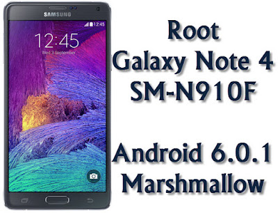 Root Galaxy Note 4 SM-N910F