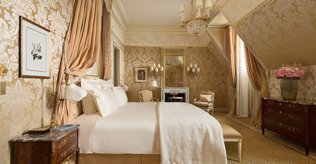 F. Scott Fitzgerald suite at Ritz Paris Hotel