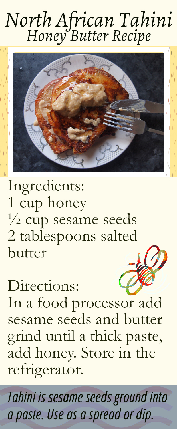 Tahini Honey Butter Recipe