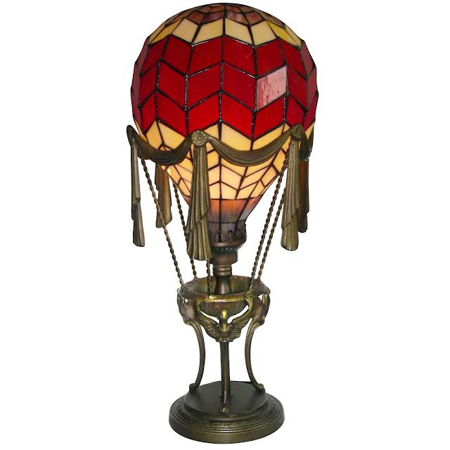 Balloon Zilla Pic: Hot Air Balloon Lamp