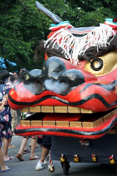 Kattaka Matsuri (summer festival), Suzaka City, Nagano Pref.