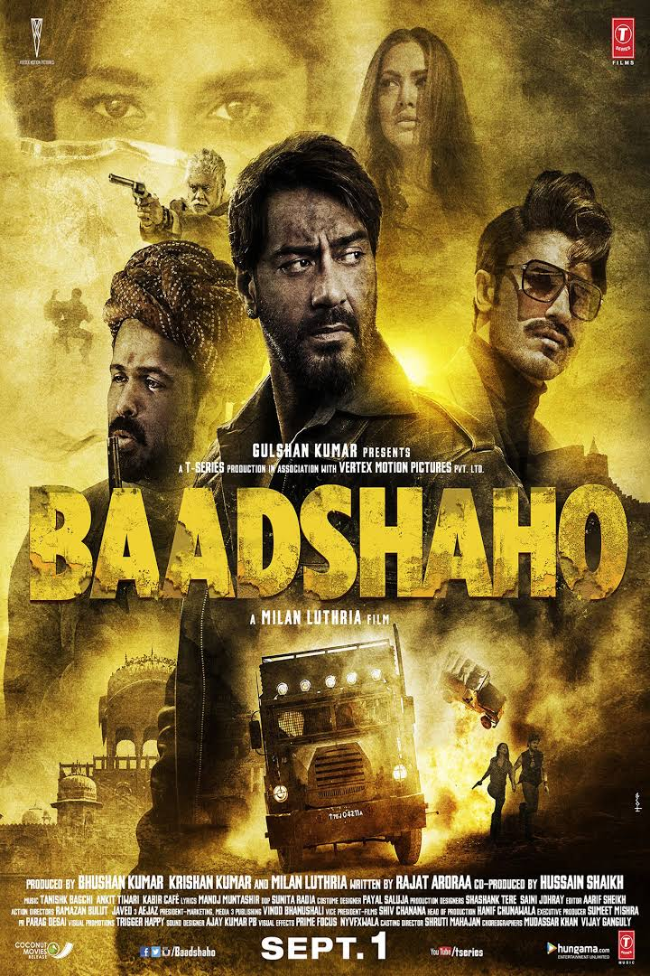 [HINDI] Baadshaho Full Movie Bollywood Collection | Ajay | Emraan Hashmi | Esha