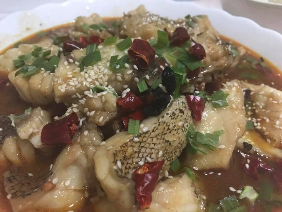 Kitchen conjugations shui zhu yu sichuan boiled fish for Boiled fish recipe