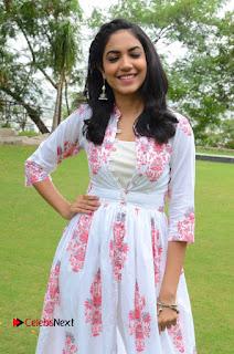 Rithu Varma Pictures in Floral Dress at Pelli Choopulu Movie Press Meet ~ Celebs Next