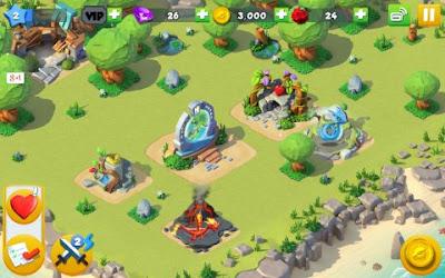 Tampilan Game Dragon Mania Legends