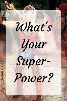 What's your secret Superpower? Check out three of mine today on the blog