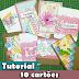 10 cartões | Tutorial | PAP | scrap | #PapelEmTudo