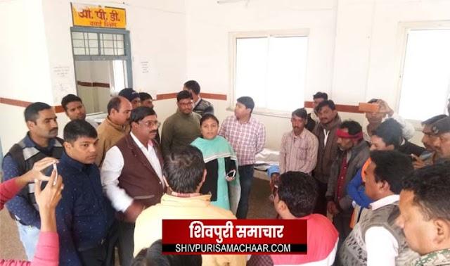 घूसखोर डॉ गायब: 25 वर्षीय युवक की मौत,हंगामा,SDM ने जप्त किया रिकॉर्ड (वीडियो देखें) | Bairad News