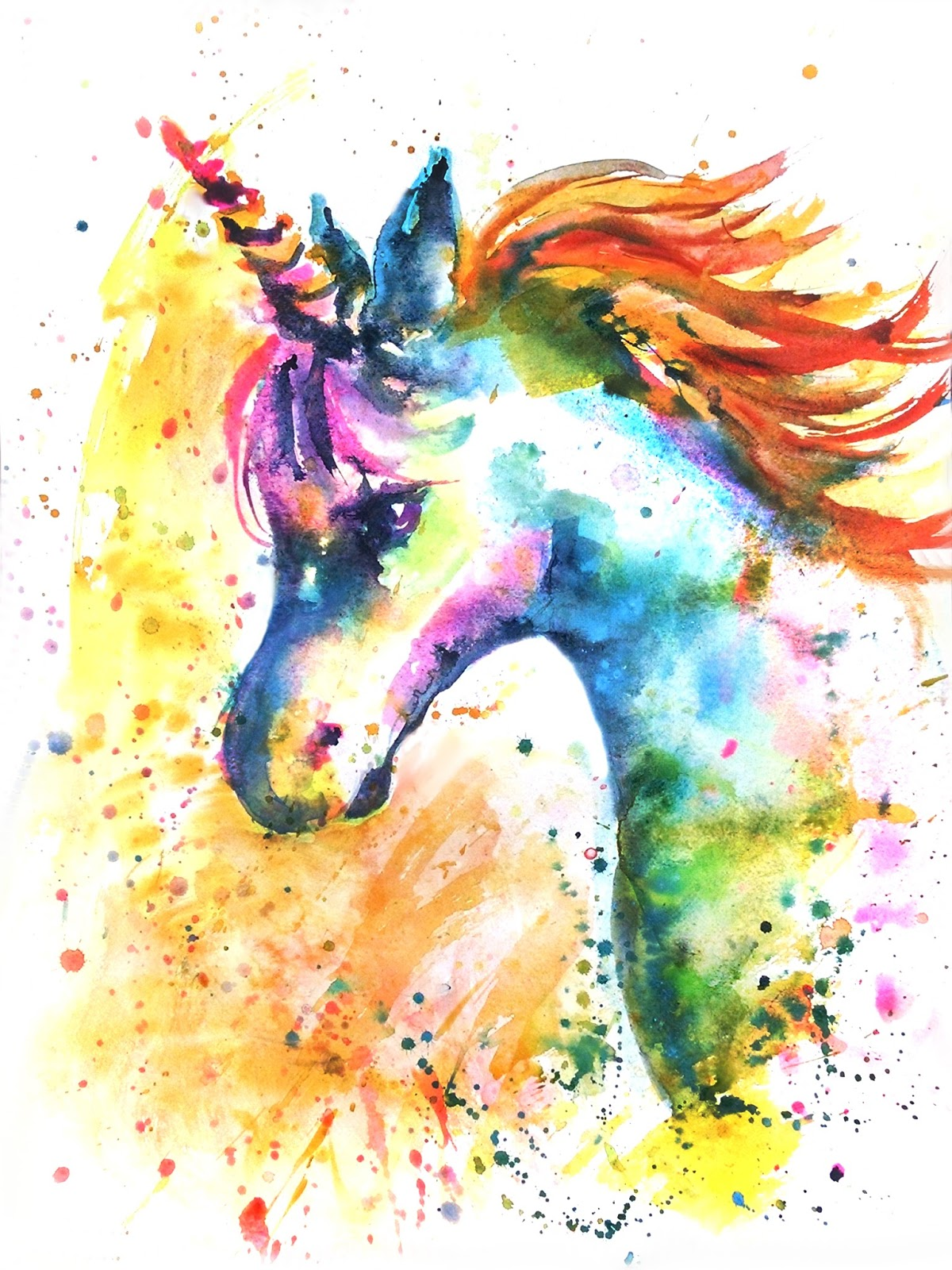 Emmas Pet Portraits Do You Believe In Unicorns