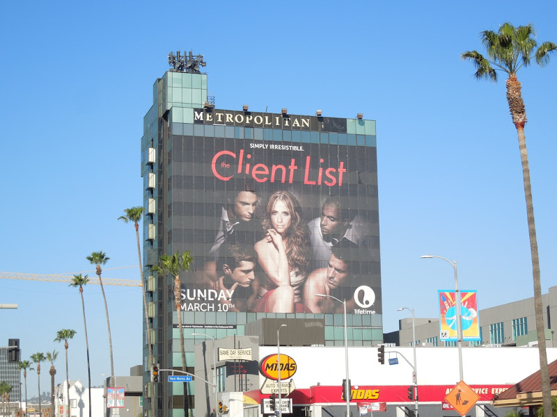 Giant Client List season 2 billboard Metropolitan Hotel