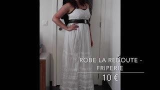 Derniers achats : 2 pantalons, 3 robes et 1 tunique pour 50 €