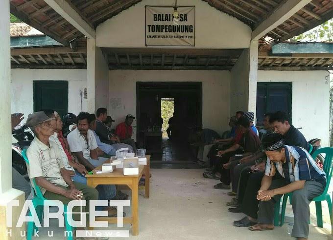 Jelang Pilkades Serentak, Muspika Sukolilo Sosialisasi Tatib Balon Kades Tompegunung