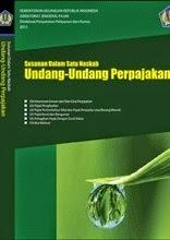 Buku Susunan Dalam Satu Naskah Undang-Undang Perpajakan 2012