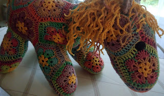 pattern africanflower horse