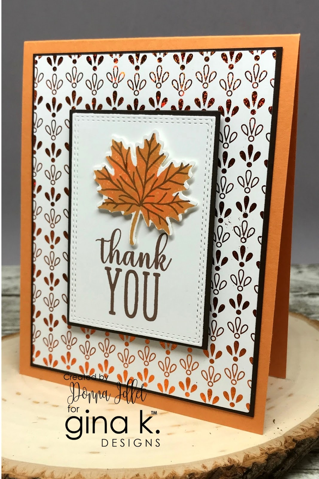Gina K Designs Amp Therm O Web 2018 Autumn Stamp N Foil