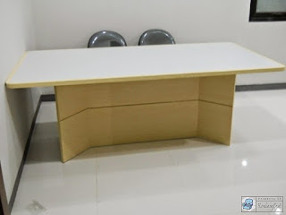 Kontraktor Interior - conference table, filing cabinet, guest chairs, workstation, divider, partition