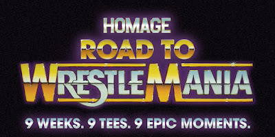 Road to WrestleMania T-Shirt Collection by Homage