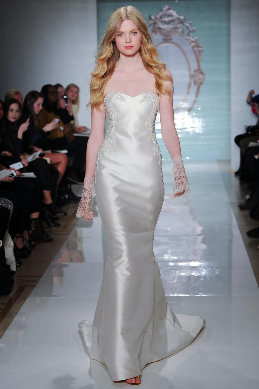 14a19a50ab35 Reem Acra Spring 2015 Wedding Dresses - World of Bridal