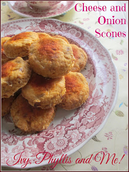CHEESE AND ONION SCONES