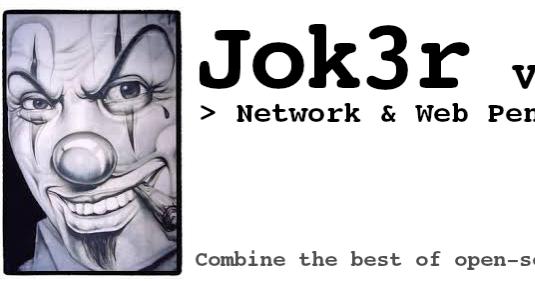 Jok3r - Network and Web Pentest Framework - hackerbrother