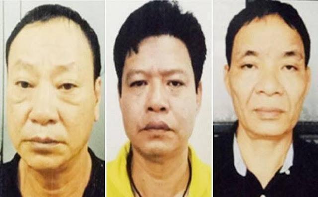 """Nhóm bị can vừa bị bắt giam vụ """"bảo kê"""" tại chợ Long Biên"""