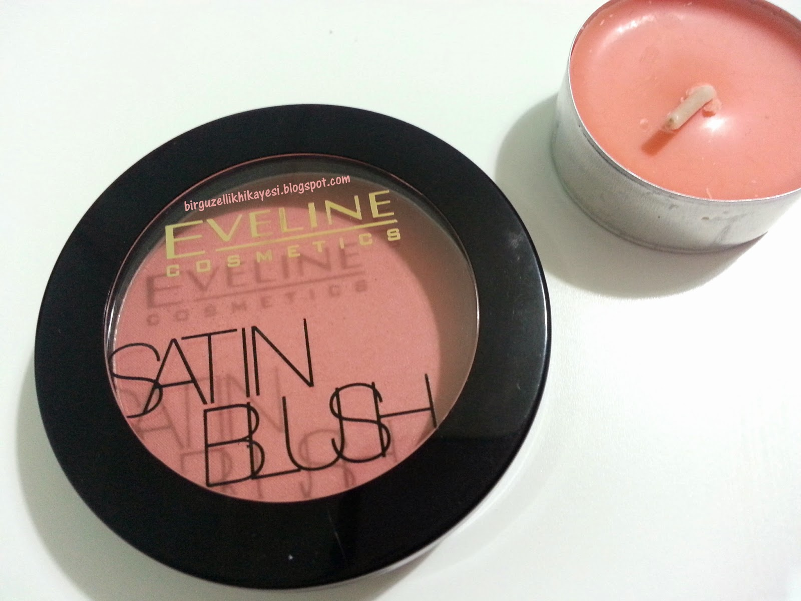 eveline cosmetics satin allik