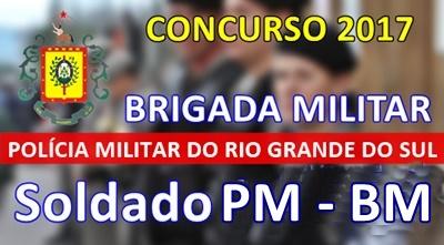 Concurso Brigada Militar RS 2017