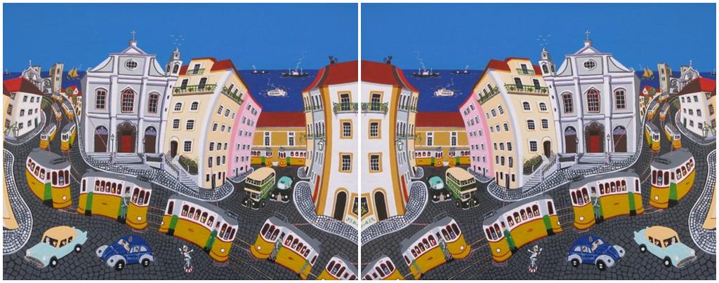 Lisbon painting