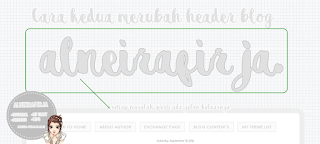 Horeeee..!! Akhirnya,, aku bisa menemukan cara cadangan mengubah header blog