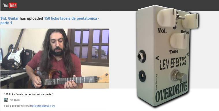 LEV Efeitos - 150 Licks de Guitarra com Sidney Andrade