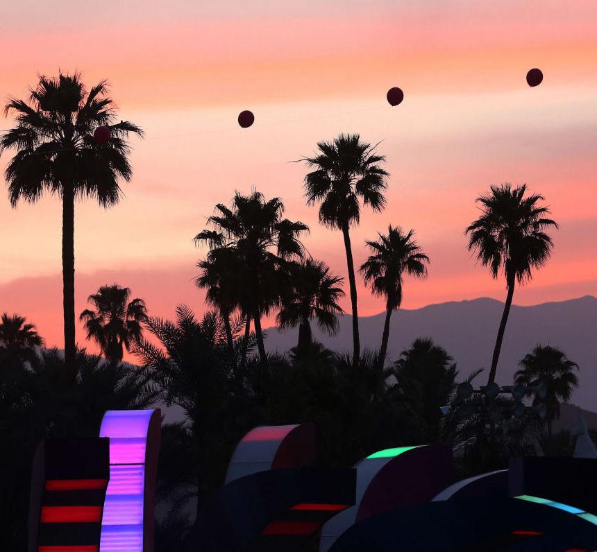 Coachella Music Festival Views