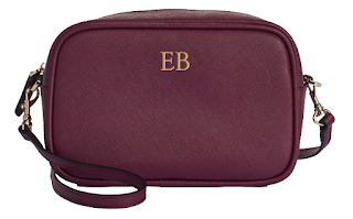 The Daily Edited Burgundy Mini Cross Body Bags