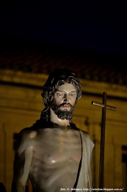 Paso de El hombre nuevo. Cofradía del Santo Sepulcro. León. Foto G. Márquez.