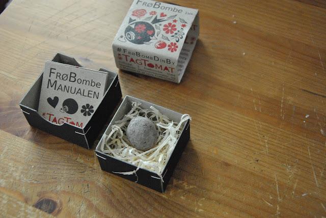 Blumensamenbombe - FrøBombe von TagTomat