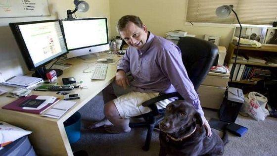 Ruang Kerja Blogger Profesional - Michael Arrington