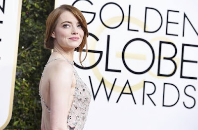 La La Land, Emma Stone, Golden Globes, Best Actress Award Winner