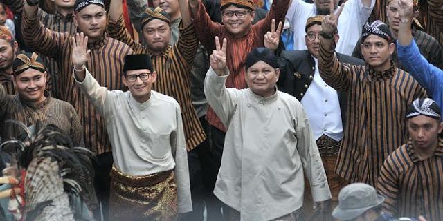 Prabowo-Sandiaga Klaim Popularitasnya Tembus 85 Persen, Elektabilitas 40 Persen
