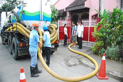 Hút bể phốt tại quận Hoàng Mai