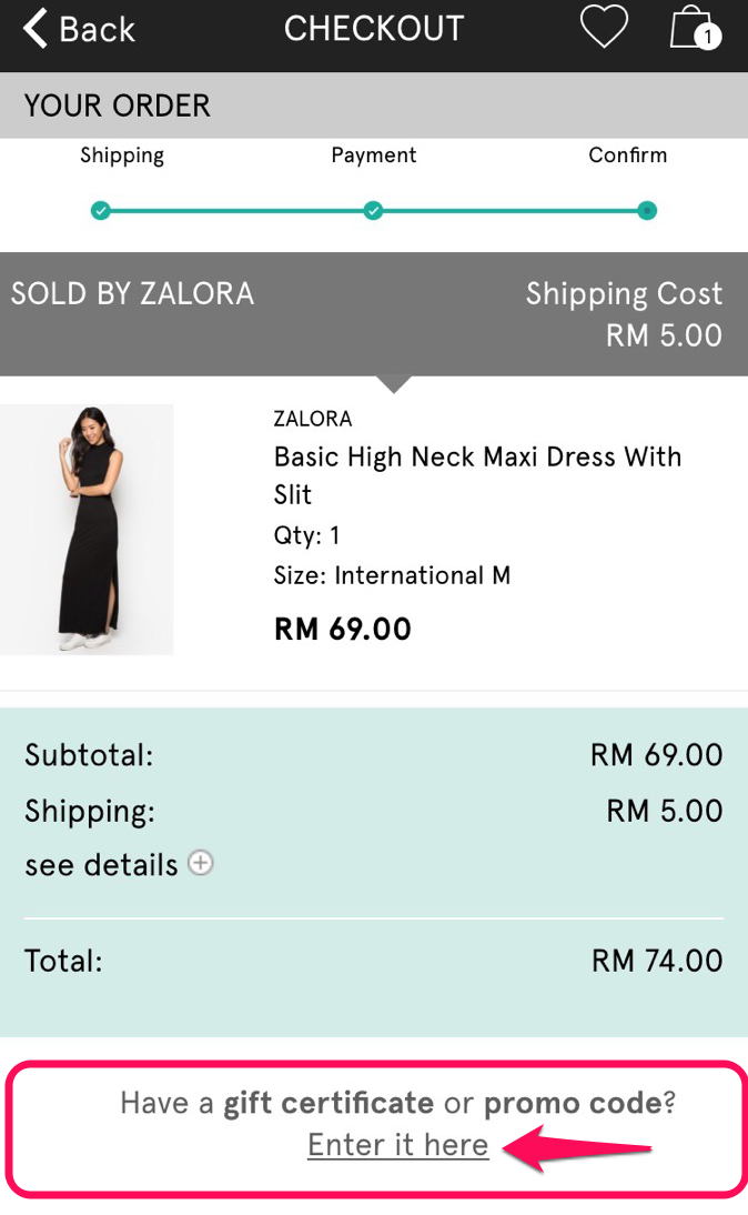 how to return zalora item