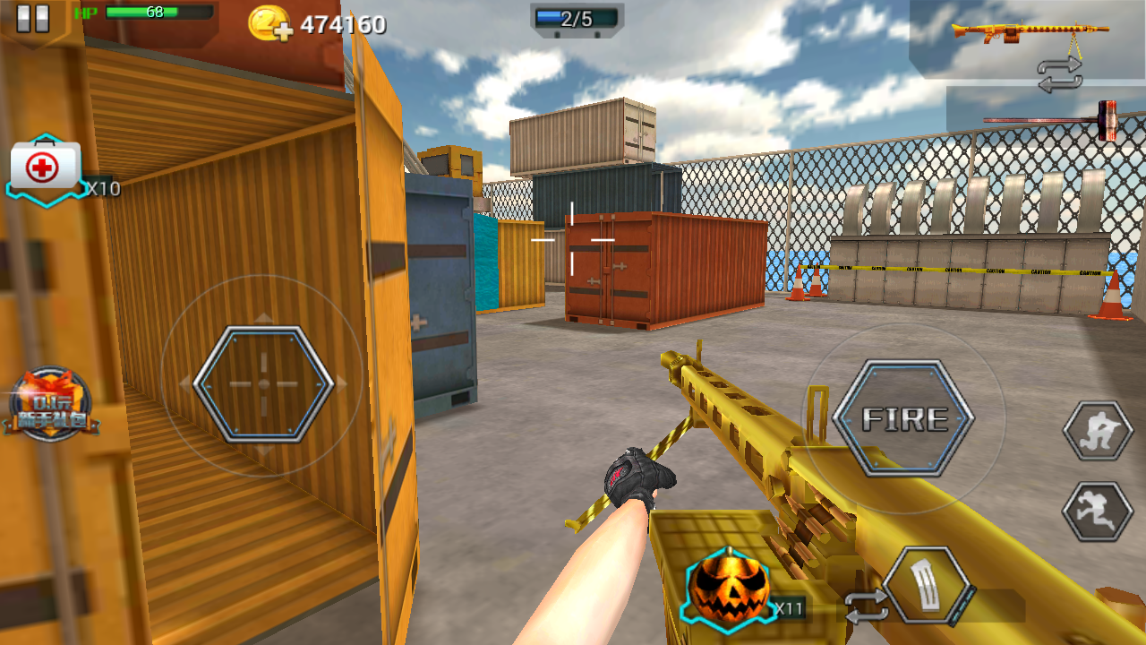 Download Game Android HUOXIAN 3D Apk [ Crisis Action versi