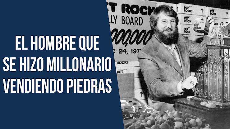 Se hizo multimillonario vendiendo piedras - Gary Dahl