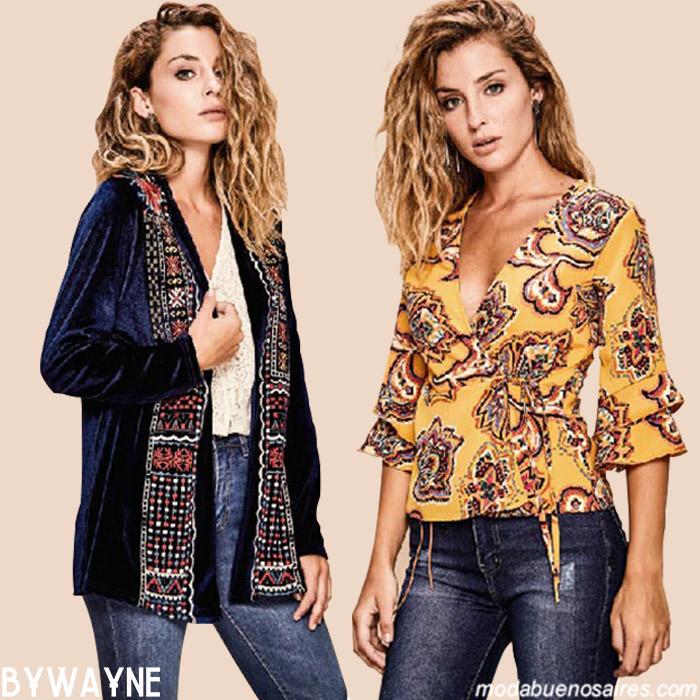 Sacos y blusas otoño invierno 2019. Moda invierno 2019.