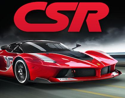 لعبة سباق السيارات CSR Racing