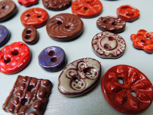Making Ceramic Buttons
