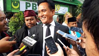 Yusril juga menerangkan soal keinginan kader yang memintanya membawa PBB untuk mendukung Prabowo