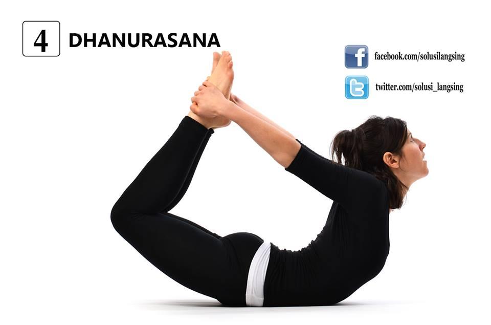 Cara gerakan olah raga yoga mengecilkan perut