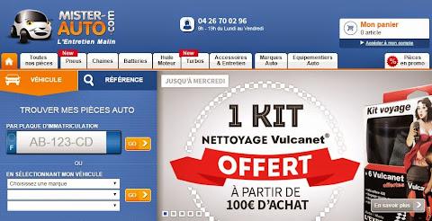 圖說: Mister-Auto 法國汽車零件電商,服務範圍涵蓋歐洲主要國家,圖片來源: 網頁截圖